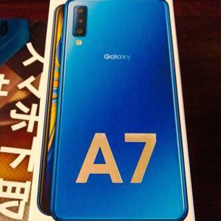 (値下げしました!)【ほぼ未使用】Galaxy A7売ります(S...