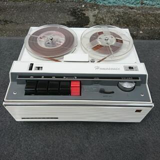 ヴィンテージ家電❗ナショナル/テープレコーダー/RQ-503