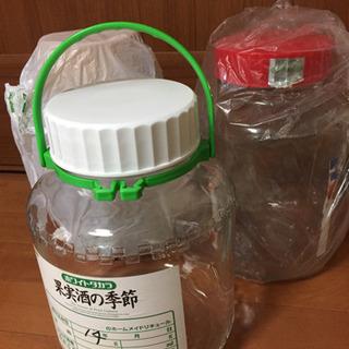 梅酒ビン  ガラス製 1.8L