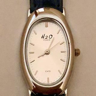 【代引き発送可】美品 レディース腕時計◆H2O CATS◆