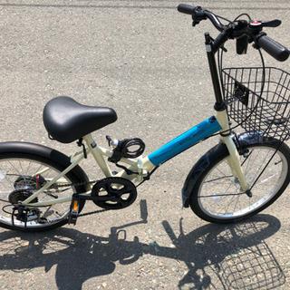 折りたたみ自転車未使用