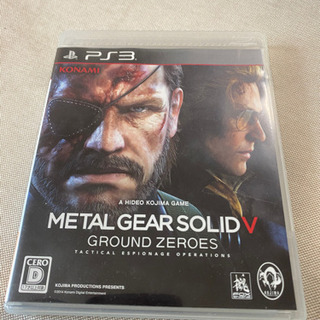 メタルギアソリッド5 GROUND ZEROS
