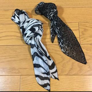 スカーフ2点
