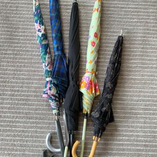 色とりどり傘 5本まとめて