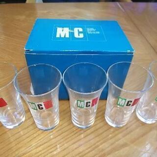 【未使用品箱入】グラス 5セット