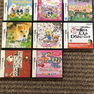 カセット込み 任天堂 DS ブルー 本体