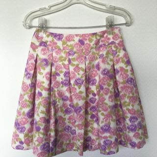 新品   Barbie  春フレアースカート    M