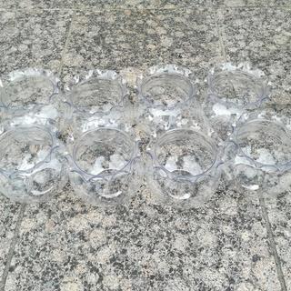 【取りに来ていただける方限定】アクリル製ミニ金魚鉢×8個 無料で差し上げます!の画像