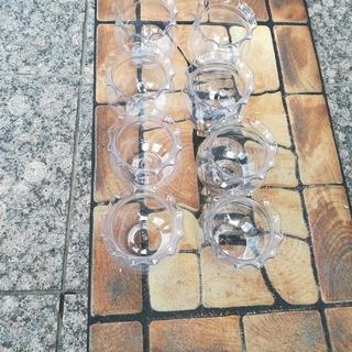【取りに来ていただける方限定】アクリル製ミニ金魚鉢×8個 無料で差し上げます! − 愛知県