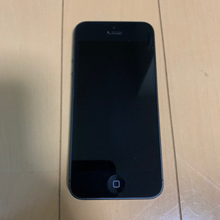 お値下げ iPhone5 Black 32GB