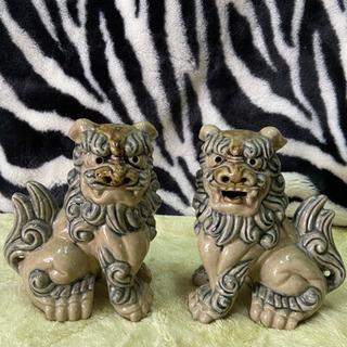 磁器ライオン
