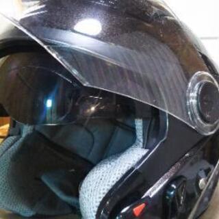 ヘルメット Mサイズ サンバイザー内蔵 中古品 <3> 美品