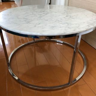 大理石テーブル 丸