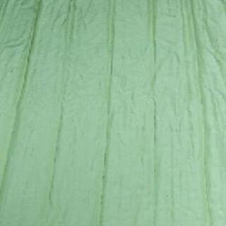 カーテン 1枚「緑色」