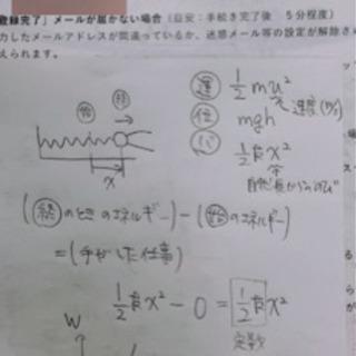 オンライン 個別指導(中学、高校の理系科目)
