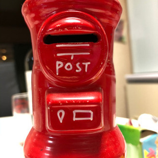 郵便受型貯金箱セット