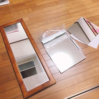 【一部引渡し済】姿見と30×30鏡2枚