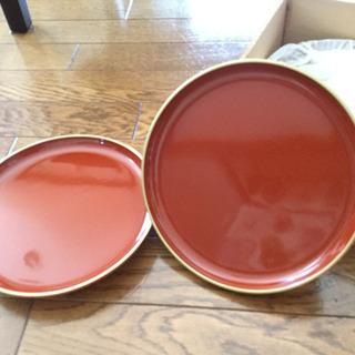 使い方色々 漆塗のお皿 5枚組