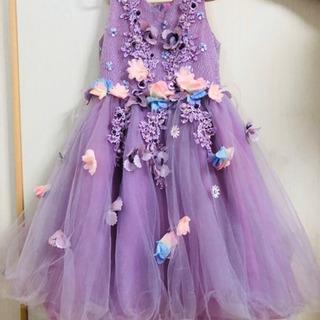 女の子ピアノ発表会用ドレス