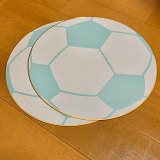 [未使用]サッカーボールの色紙2枚