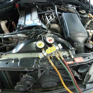 夏の車のエアコン 点検!