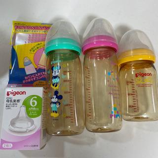 新品哺乳瓶乳首、母乳瓶中古 他 ※交渉中