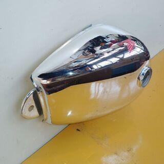 モンキー5L燃料タンク メッキ塗装