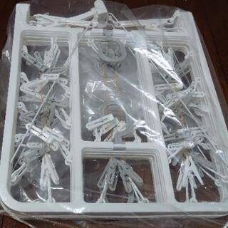 折りたたみ角ハンガーの画像