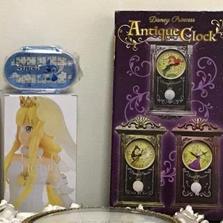 アリエルの時計とフィギュアとスイッチの弁当箱