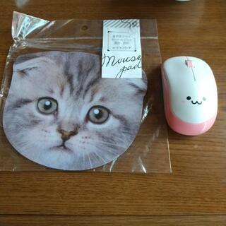 (新品)マウス&マウスパッド!