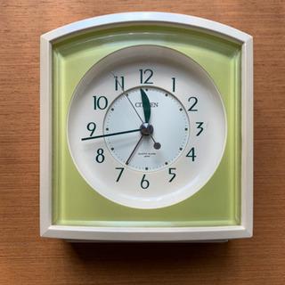 【無料】シチズン 目覚まし時計