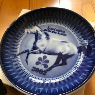 京都競馬 記念飾り皿 未使用品