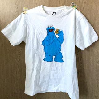 ユニクロ KAWS×SESAME STREET 半袖Tシャツ S