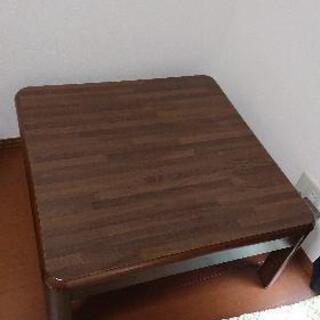 テーブル  こたつ    【無料】