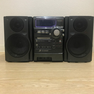 【0円】【ジャンク】SONY CD/MDコンポ(ctm-px5 ...