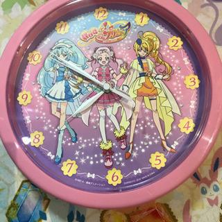 HUGっとプリキュア 掛時計
