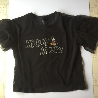 Tシャツ  ミッキーマウス  キッズ