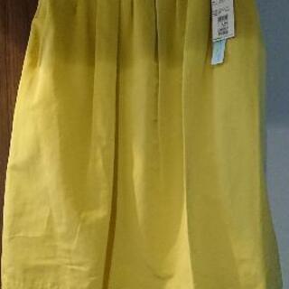 INED 鮮やか黄色のスカート 13号