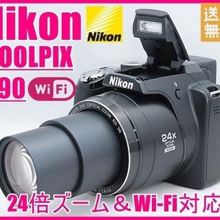 Nikon ニコン COOLPIX P90 Wi-Fi対応 24...