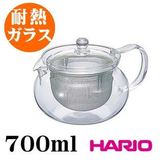 【新品 送料無料】耐熱ガラス 茶茶急須 700ml 茶器 ハリオ
