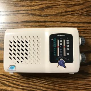 防滴ラジオ(お風呂用)AM・FM