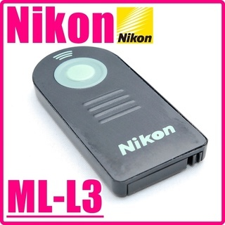 NIKON 純正品 ML-L3 離れた場所からシャッターが切れる♪