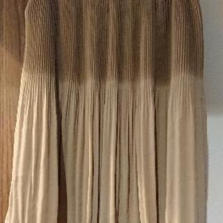 MON STYLE ベージュのスカート サイズ42