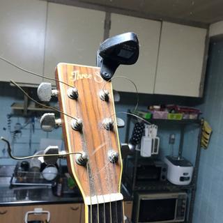 フォークギターthreeS 値下げしました。交渉中