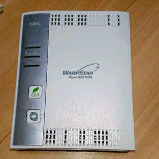 NEC 無線LANルーター WARPSTAR
