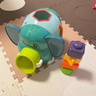 【知育玩具】形パズル ゾウ