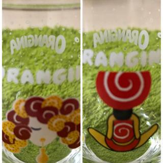 オランジーナグラス4個セット ★非売品★未使用