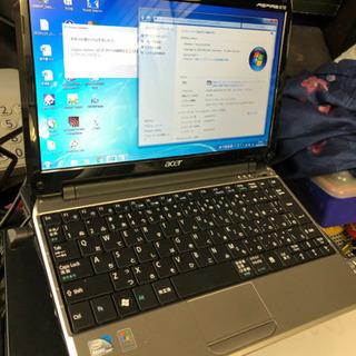 ACER ASPIRE ONE ZA3 Intel Atom CPU 2520 1.33GHz RAM 2GB Windows7 - 大阪市