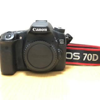 値下げ★ EOS 70D 本体 Canon 一眼カメラ ★