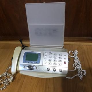 FAX、コピー付き電話